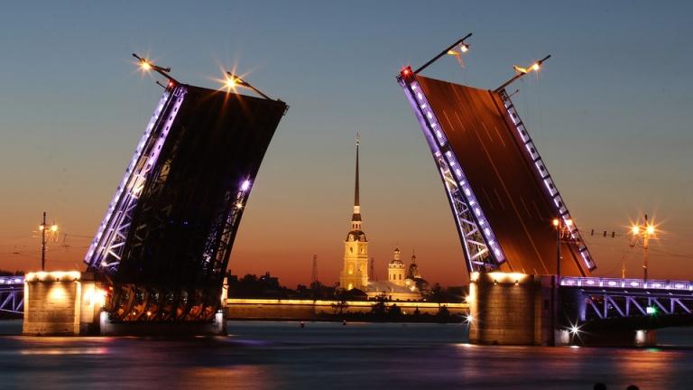 Ночной Петербург с катанием на теплоходе 21 мая 2021г.