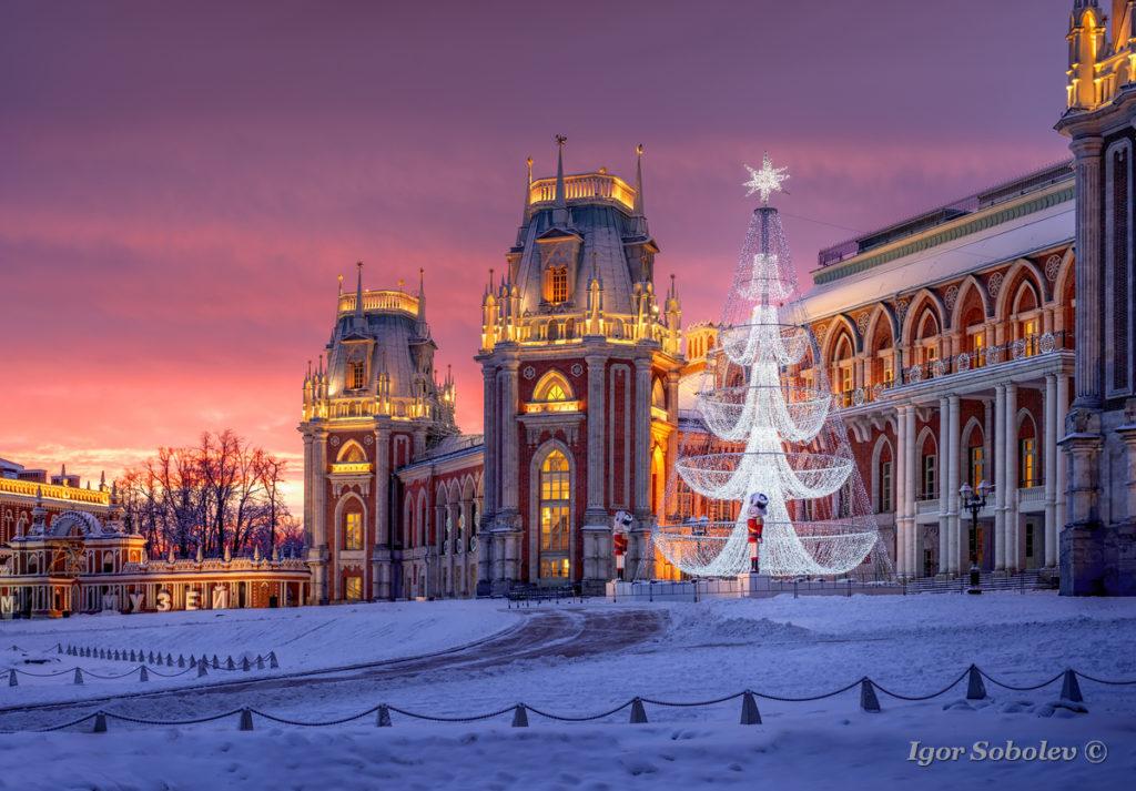 « Ожерелье московских усадеб. Автобусный тур из СПб» 4 дня